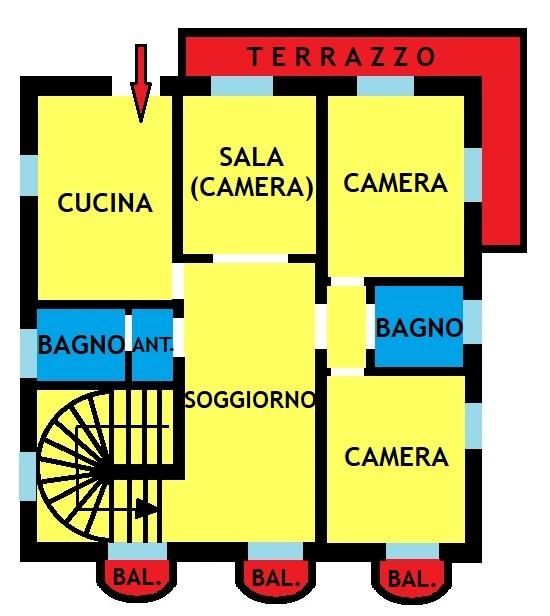 Imola centro Via Cavour